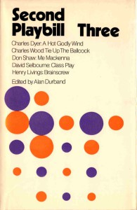 Second Playbill Three by Alan Durband