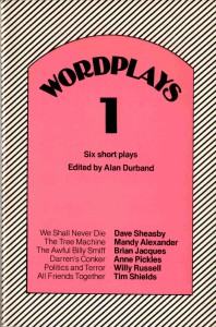 Wordplays 1 by Alan Durband